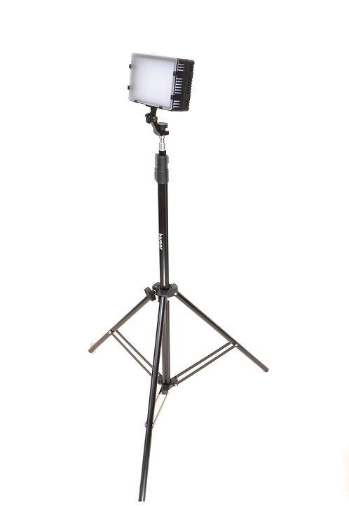 LED125S - Single LED125, Light Stand & AC Adapter Kit