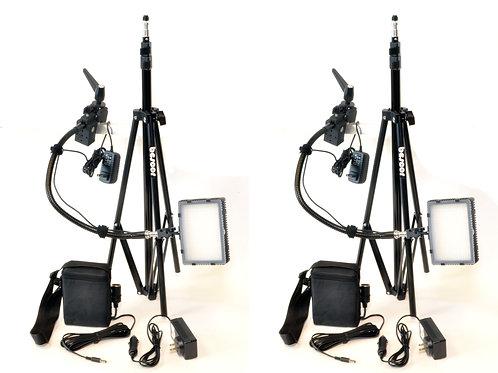GRIP182KB - 2 FP180, 2 Superclamp, 2 FA23 , 2 SLM5ATM, 2 AC Adapter Kit