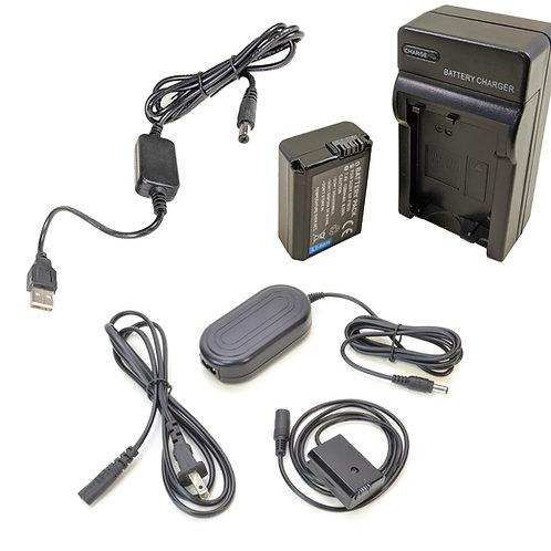 NPFW50PRO5V - NPFW50 Battery, AC Coupler & USB Adapter Kit