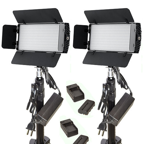 photonKB - Two Piece LED Studio & Battery Kit
