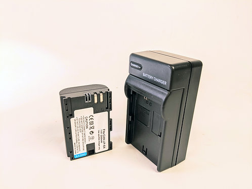 LPE6 - LPE6 Style Battery & Charger for Canon Cameras