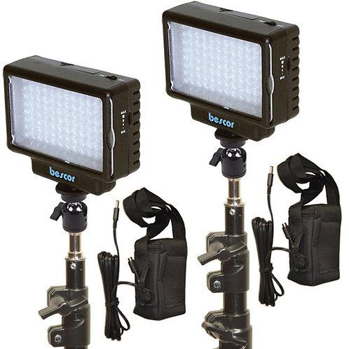 LED70KB - Dual LED70 Light & Battery Studio Kit