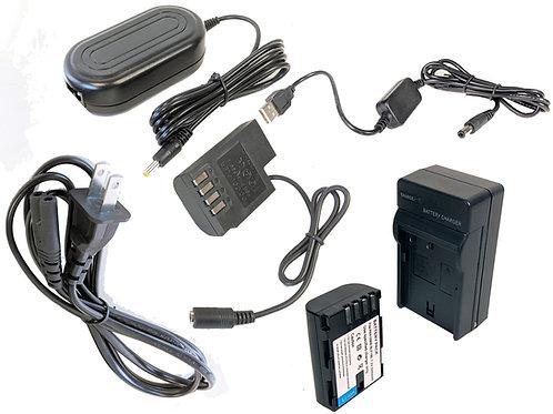 DMWBLF19PRO5V - BLF19 Battery, AC Coupler, USB Adapter