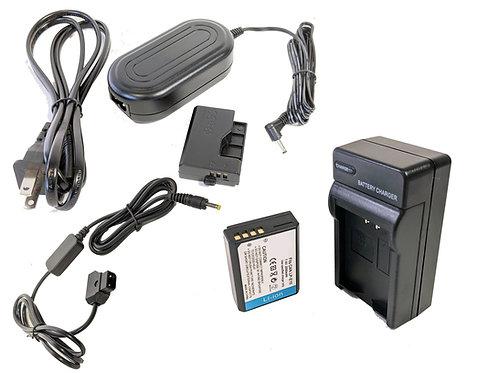 LPE10PROD - LPE10 Battery, AC Coupler & Dtap Adapter Kit