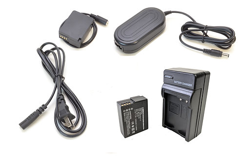 DMWBLC12PRO - DMWBLC12 Style Battery, Charger, Coupler & AC Adapter Kit