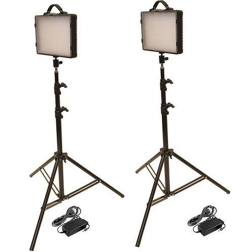 LED200K - Dual 300W LED Studio Kit