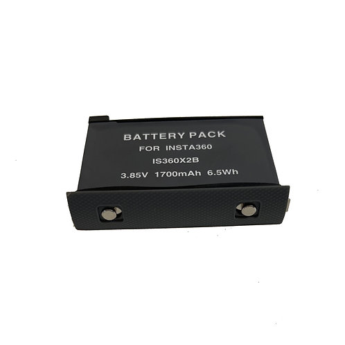 INSTA3601X2BAT - Replacement 1700 mAh Battery for Insta360 One X 2
