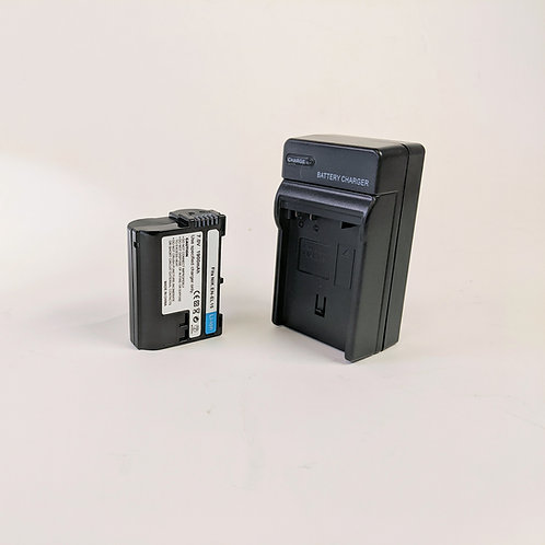 ENEL15 - ENEL15 Style Battery & Charger for Nikon Cameras