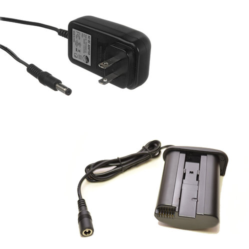 DRE19 - Canon LPE19 DRE19 Battery Coupler 2.1mm Female Output & AC Adapter
