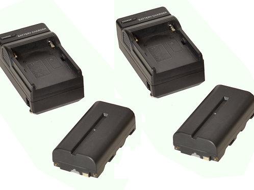 BCK36 - 2x NPF Battery & Charger