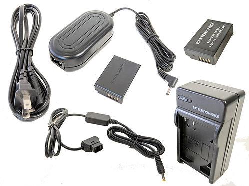 LPE17PROD - LPE17 Battery, AC Coupler & Dtap Adapter Kit