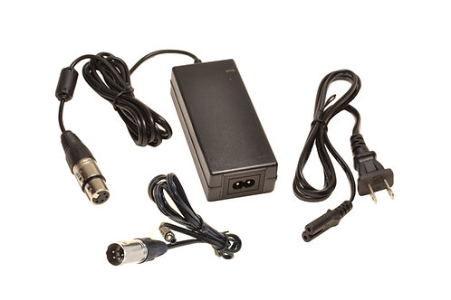PSA12421- 12V5A XLR AC Adapter w/ 2.1mm Adapter