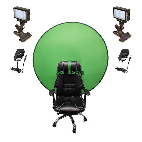 LED70GSK - LED & Green Screen Streaming Kit