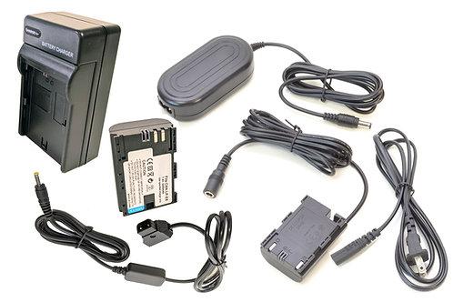DRE6PROD - LPE6 Battery, AC Coupler & DTap Adapter Kit