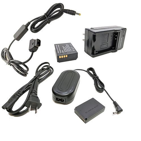 LPE12PROD - LPE17 Battery, AC Coupler & Dtap Adapter Kit