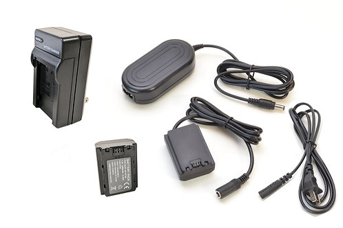 FZ100PRO - FZ100 Style Battery, Charger, Coupler & AC Adapter Kit