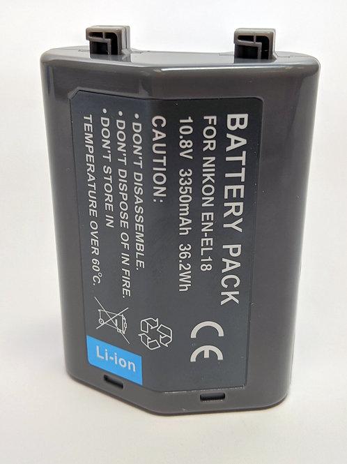 ENEL18C - Nikon Style ENEL18C Battery 3350mAh