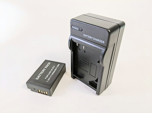 LPE17 - LPE17 Style Battery & Charger for Canon Cameras