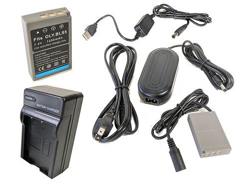 BLS50PRO5V - BLS50 AC Coupler Kit  & Battery Kit w/ 5V USB Adapter