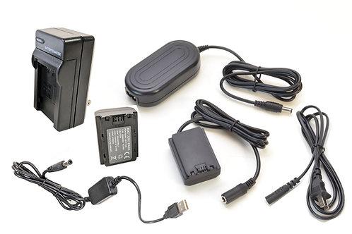 FZ100PRO5V -FZ100 Battery, AC Coupler & USB Adapter Kit