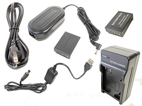 LPE17PRO5V - LPE10 Battery, AC Coupler & USB Adapter Kit