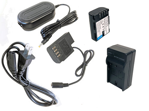 DMWBLF19PRO - DMWBLF19 Style Battery, Charger, Coupler & AC Adapter Kit