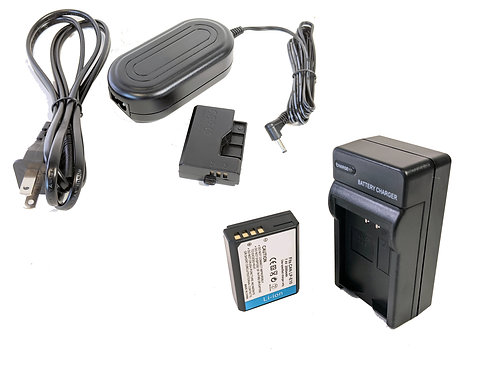 LPE10PRO - LPE10 Style Battery, Charger, Coupler & AC Adapter Kit