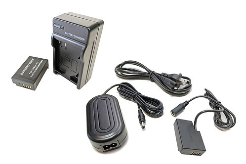 DRE18PRO - Canon LPE17 Battery & Charger Kit + DRE18AC