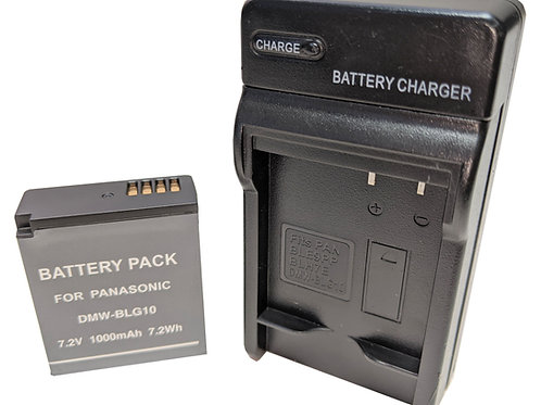 DMWBLG10 - Panasonic Style DMWBLG10 Battery & Charger Kit