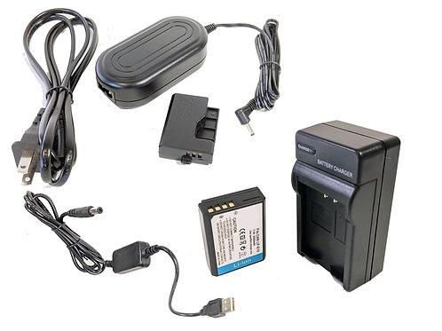 LPE10PRO5V - LPE10 Battery, AC Coupler & USB Adapter Kit