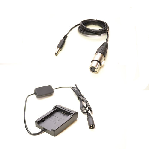 LPE612VXLR - Battery Plate Converts LPE6 Battery to 12v 4Pin XLR Output