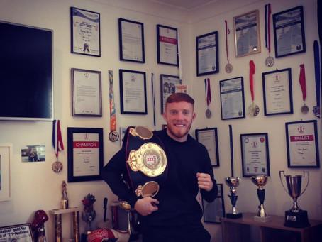Sponsorship deal with light heavyweight boxer Aaron Bowen 🥊 🇬🇧