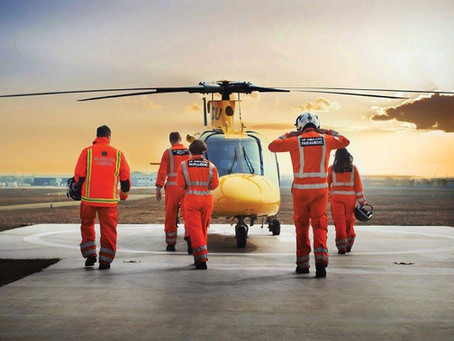 Our Brand New Lunch Service & Partnership with the Air Ambulance