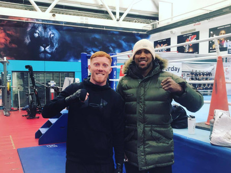 Lockdown 2020: Catch up with Aaron Bowen 🥊