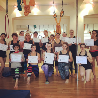 Our first Student Gradings!
