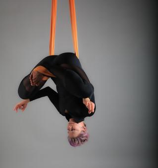 Benefits of hanging upside down!