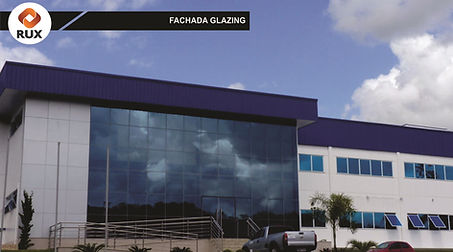 fachada glazing com vidro laminado 4+4mm