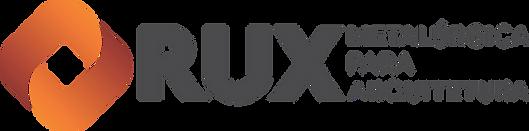 logo RUX Metalurgica para Arquitetura.pn