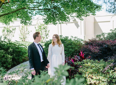 Houston Temple Wedding