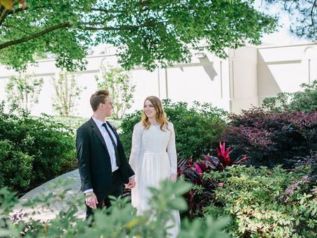 Houston Temple Wedding