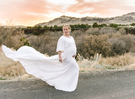 Kasey's Maternity Journey | St. George Maternity Photographer