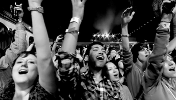 Crowd footage from AXE Music series - Unilever