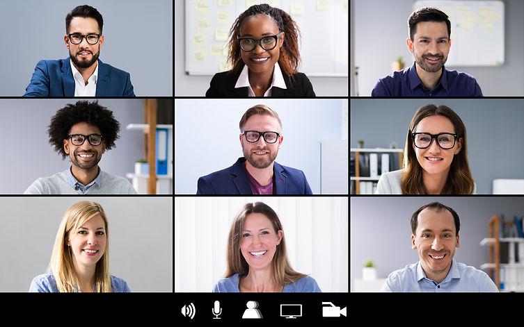 bigstock-Group-Corporate-Video-Conferen-
