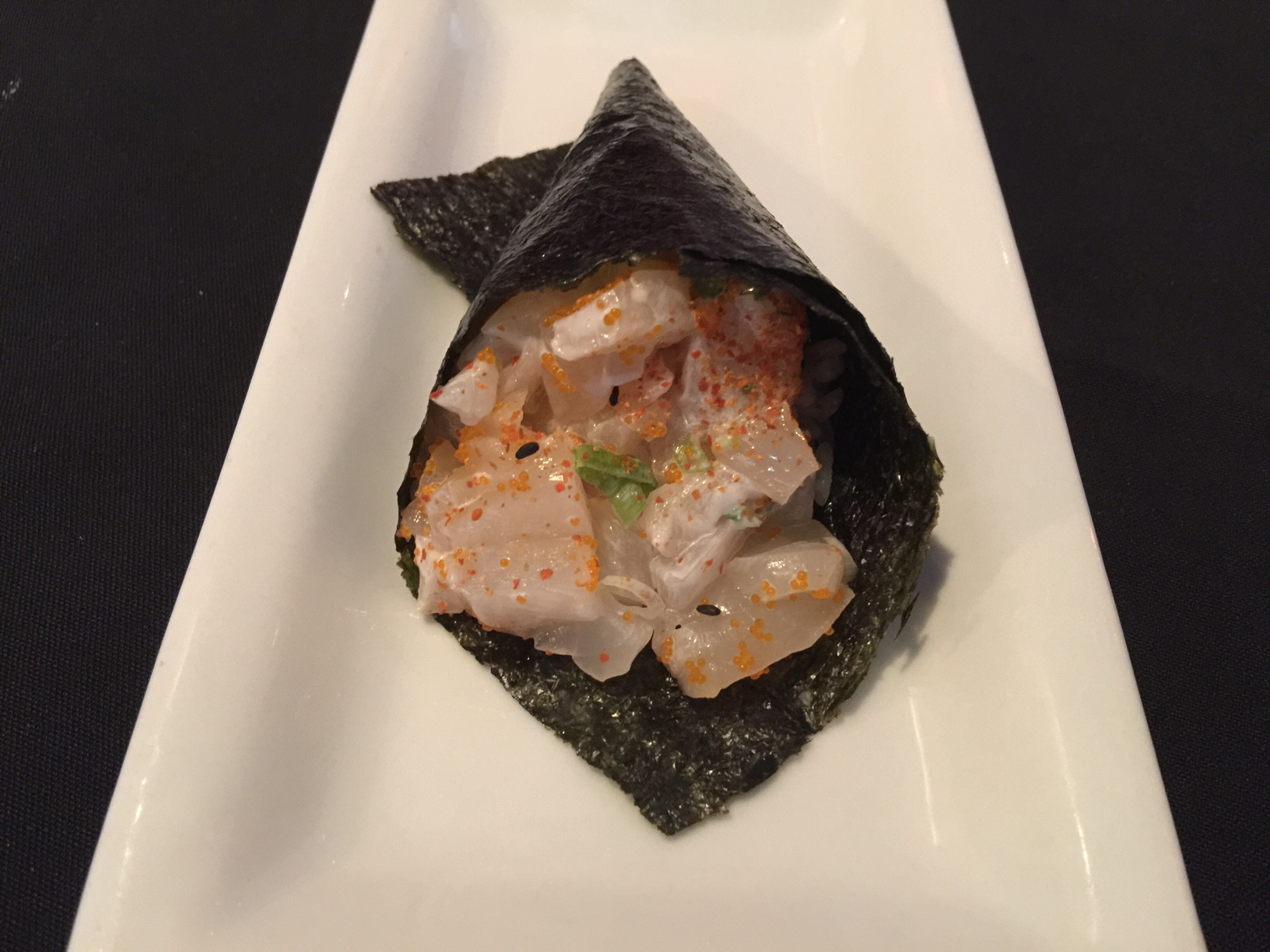 Chopped Scallop Hand Roll