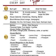 Happy Hour - Bar