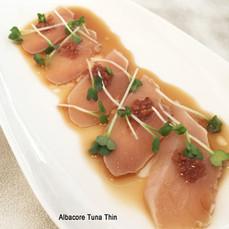 Albacore Tuna Thin