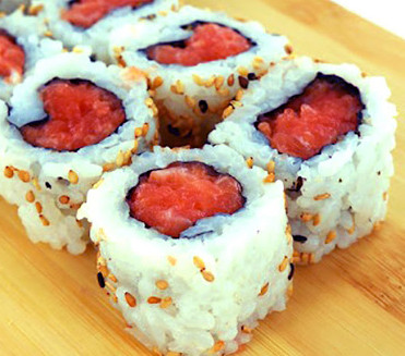 Spicy Salmon Roll $4