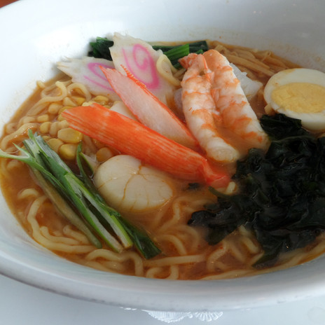 Spicy Seafood Ramen $10