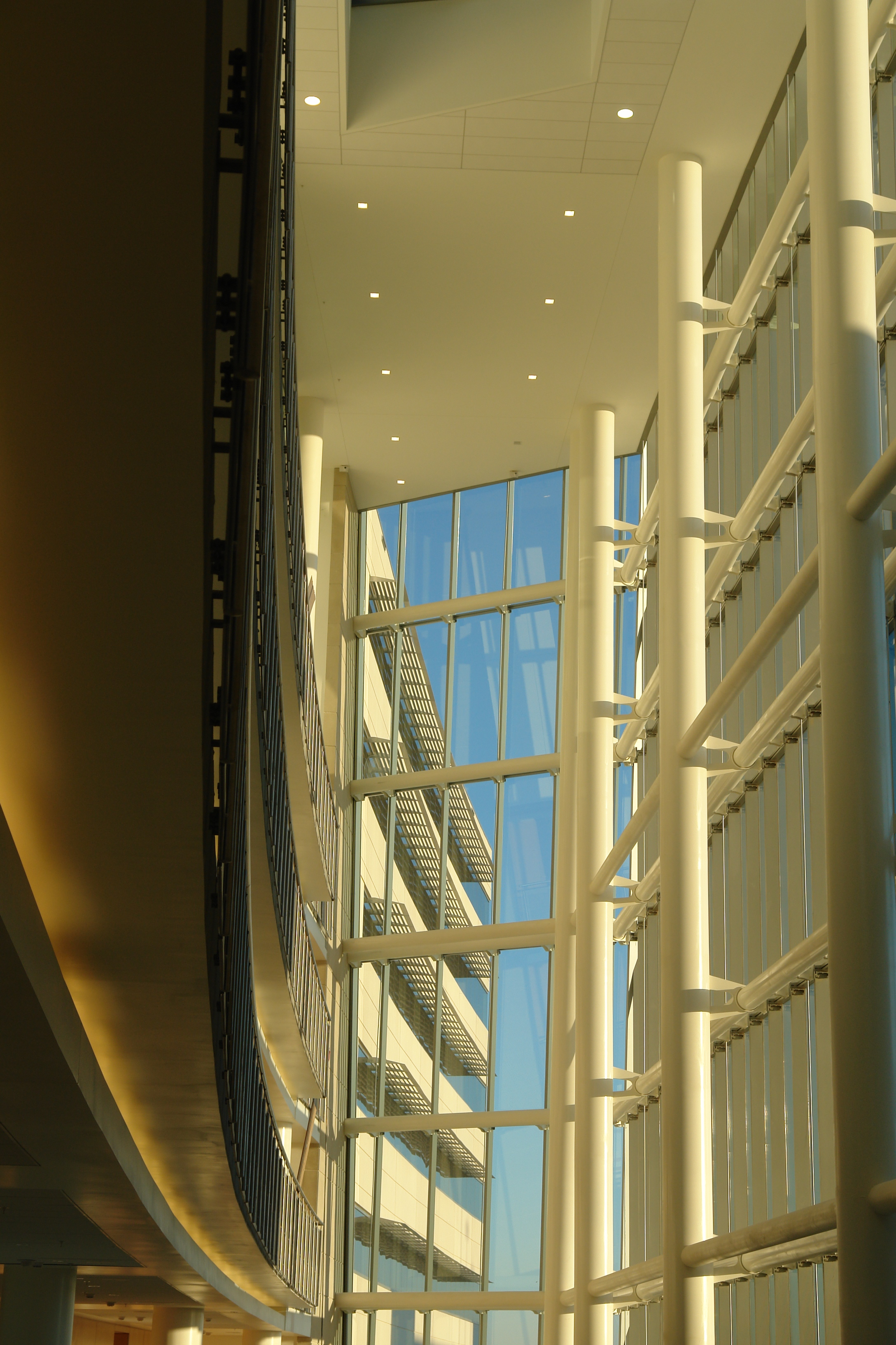Detail as South Atrium