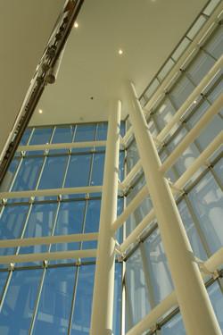 Steel Detail South Atrium